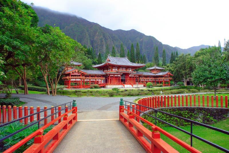 Byodo-Dans le temple photo libre de droits
