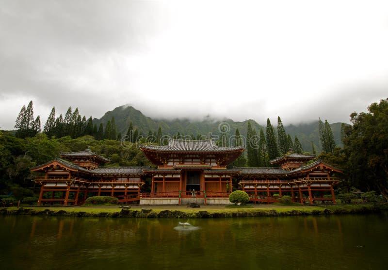 Byodo-Dans Le Temple Images stock