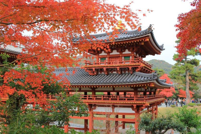 Byodo-dans le temple image libre de droits