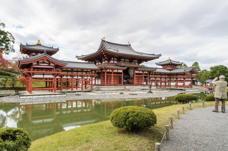 Byodo-en el templo en Uji, Japón foto de archivo libre de regalías