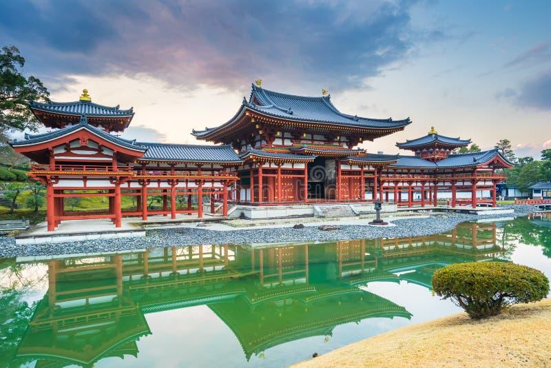 Byodo-i templet i staden av Uji i den Kyoto prefekturen Japan arkivfoton