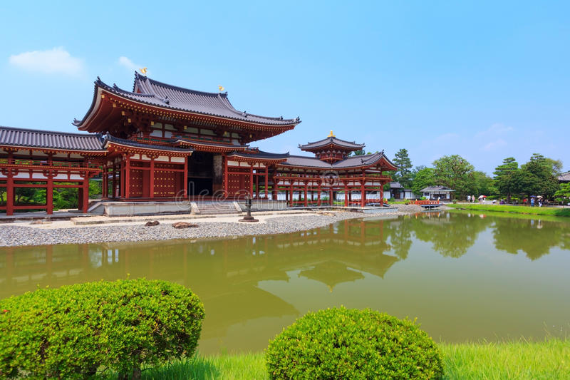 Byodo-im Tempel in Kyoto, Japan stockfoto