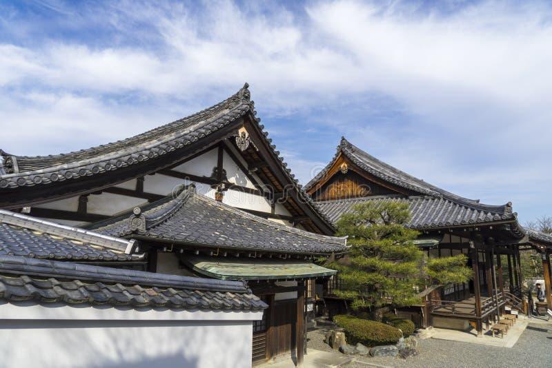 Byodo-no templo em Kyoto, Japão foto de stock royalty free