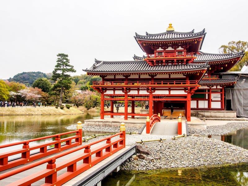 Byodo-in tempel, Kyoto, Japan 1 royalty-vrije stock foto's