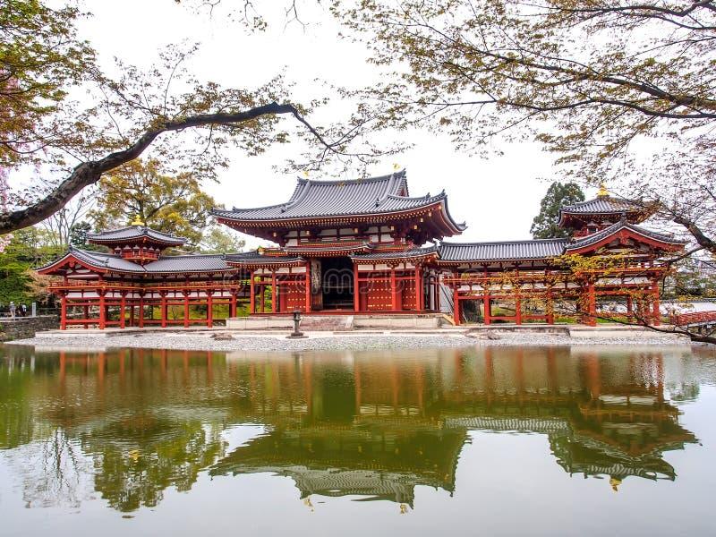 Byodo-in tempel, Kyoto, Japan 3 stock afbeelding