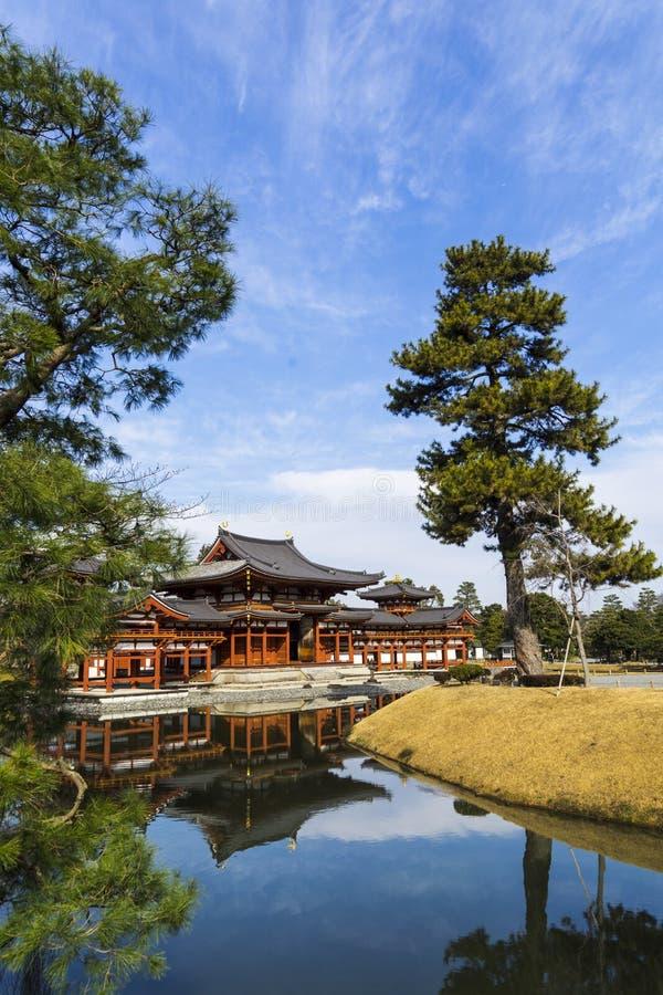 Byodo-in Tempel in Kyoto, Japan stock foto's