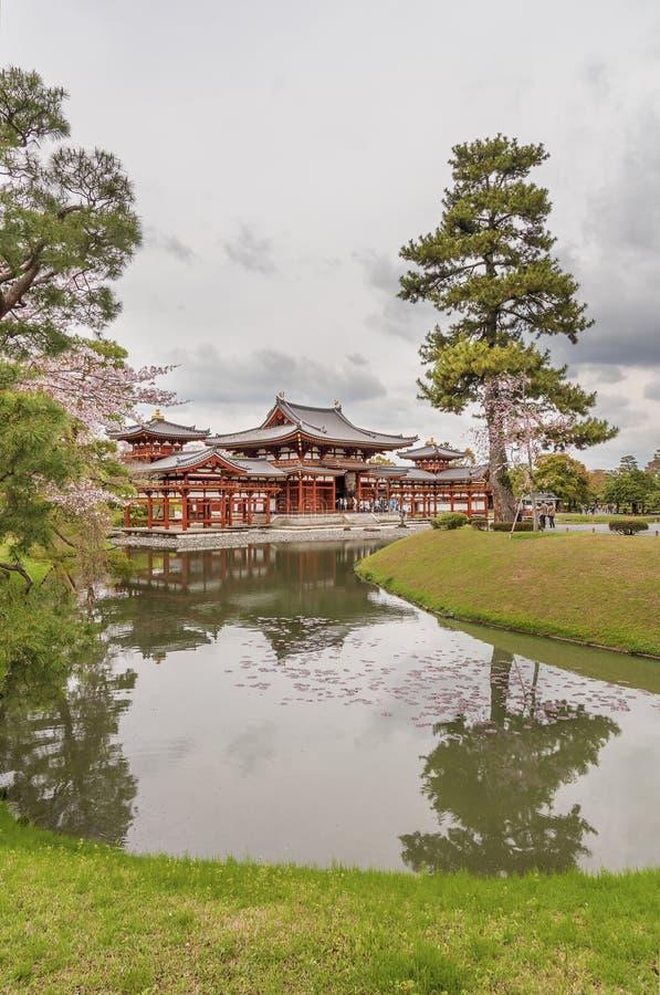 Byodo-in tempio buddista a Kyoto, il Giappone immagini stock libere da diritti
