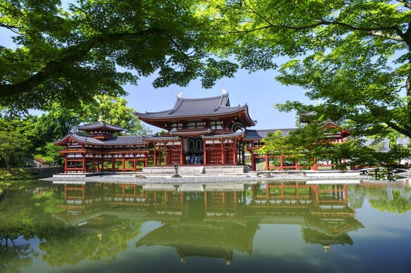 Byodo-in tempio buddista in Uji, il Giappone fotografie stock libere da diritti