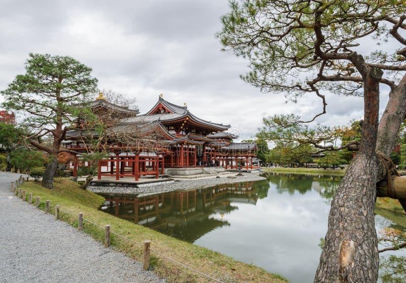 Byodo-in tempio in Uji, il Giappone fotografia stock libera da diritti
