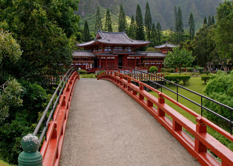 Download Byodo-In Temple stock image. Image of america, hawaii - 11639013