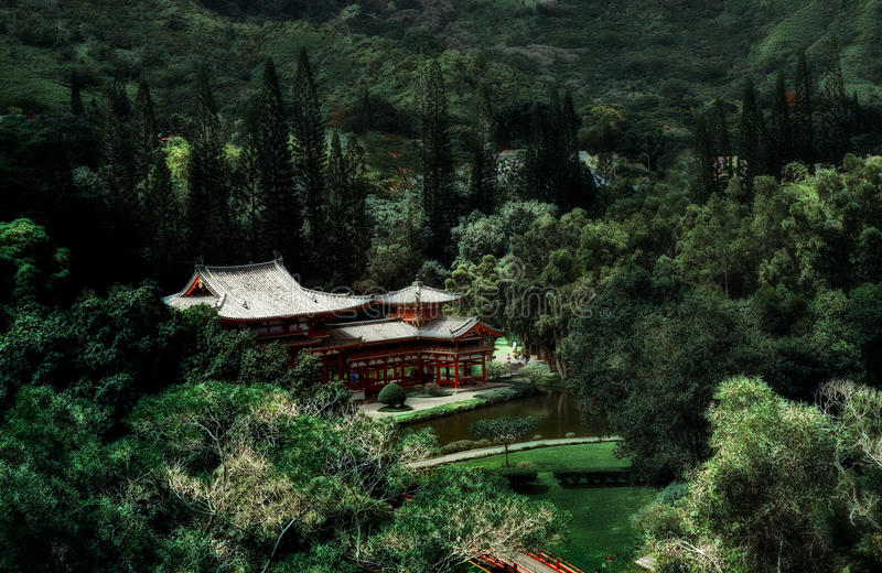 Download Byodo-in Temple. Hawaii, Oahu Stock Photo - Image: 13325406