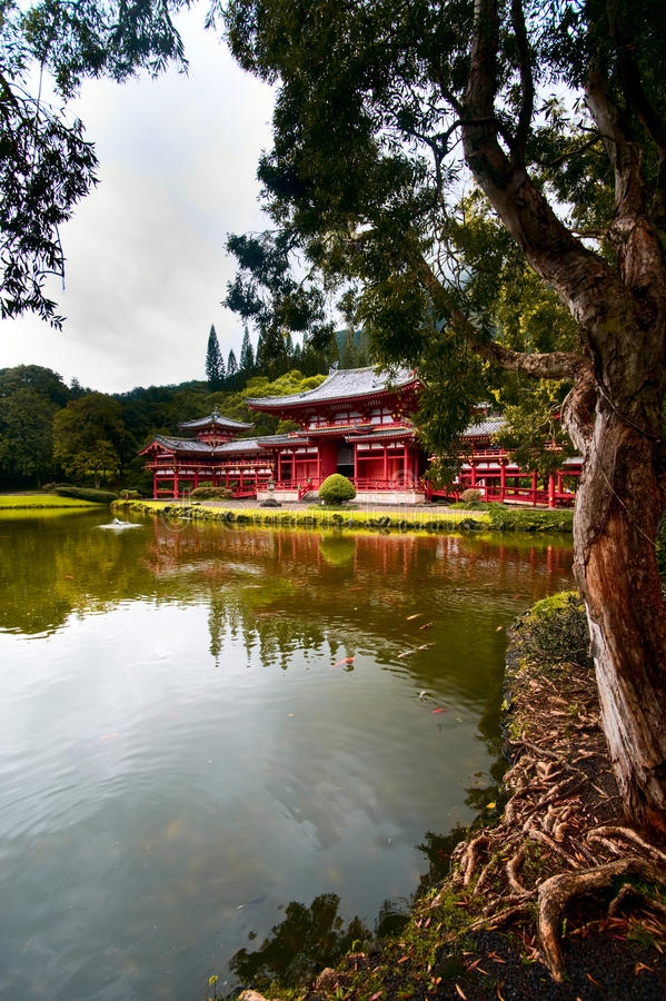 Byodo-in Temple. Hawaii, Oahu Royalty Free Stock Image