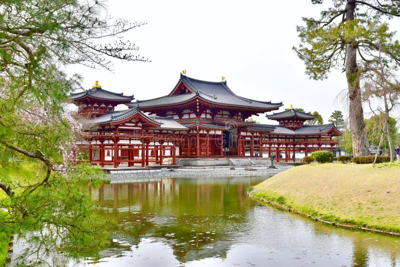 Byodoin Giappone del tempio di Kyoto della città di Uji immagini stock libere da diritti