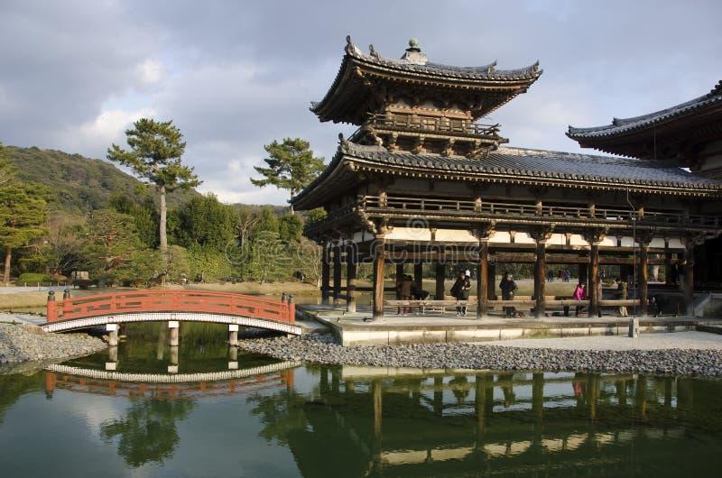 Byodoin tempel i Uji, Kyoto, Japan arkivbild