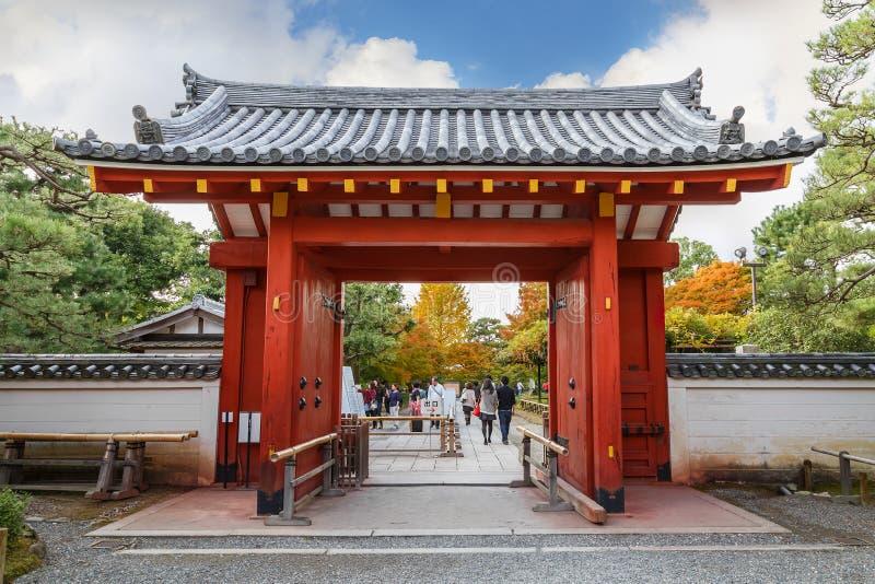 Byodointempel in Kyoto stock foto's