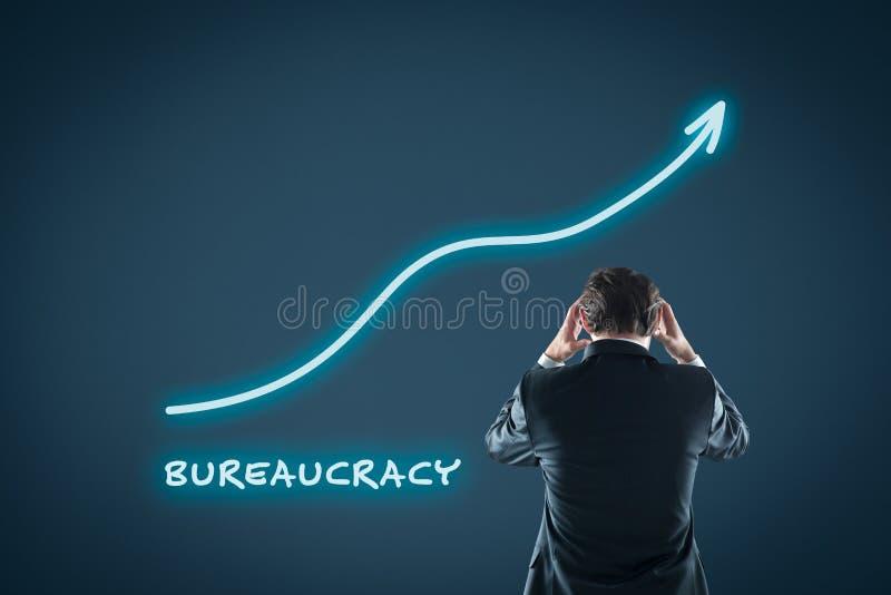 Byråkratitillväxt arkivfoton