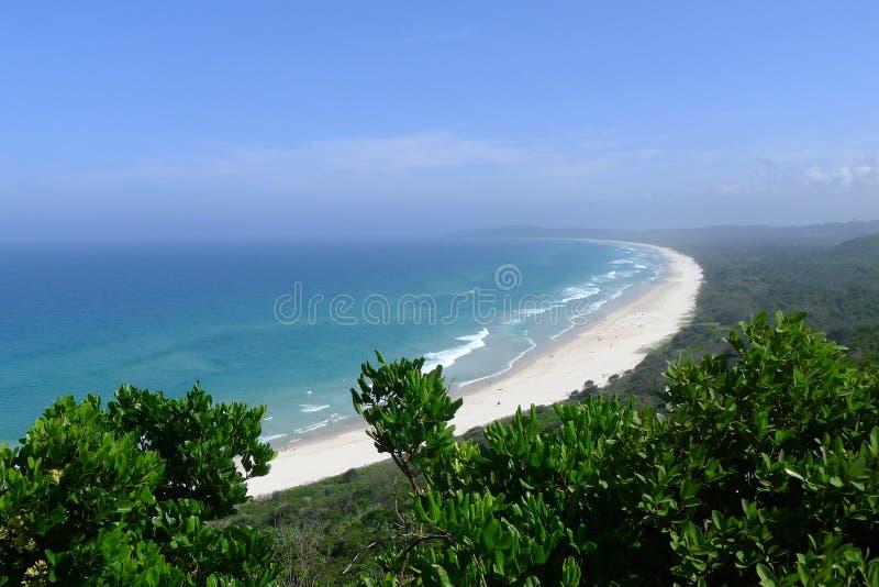 Byron Bay, Australië stock afbeeldingen