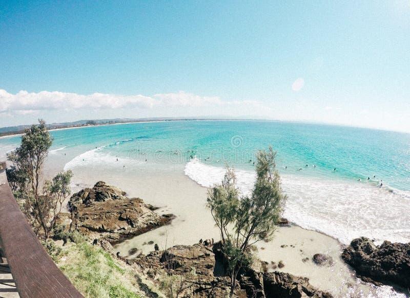 Byron Bay Australia lizenzfreies stockbild