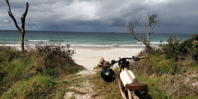 Byron Bay Electric Ride stock foto