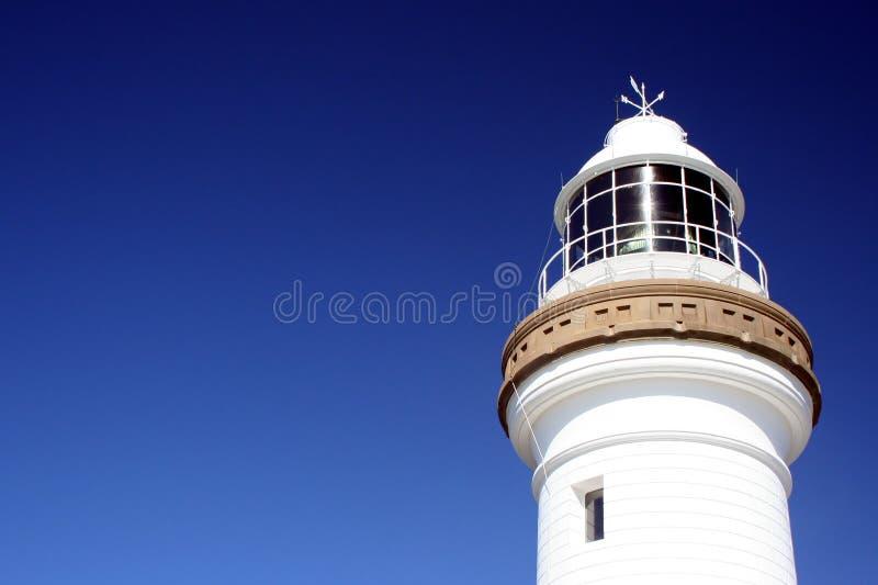 Byron Bay Lighthouse. Closeup of the lighthouse at Byron Bay, Australia stock photography
