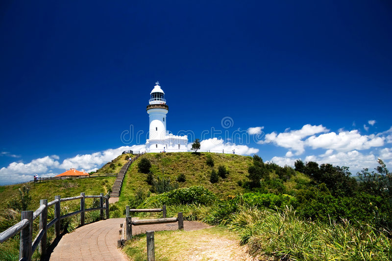 Download Byron Bay Lighthouse stock image. Image of lighthouse - 2590737