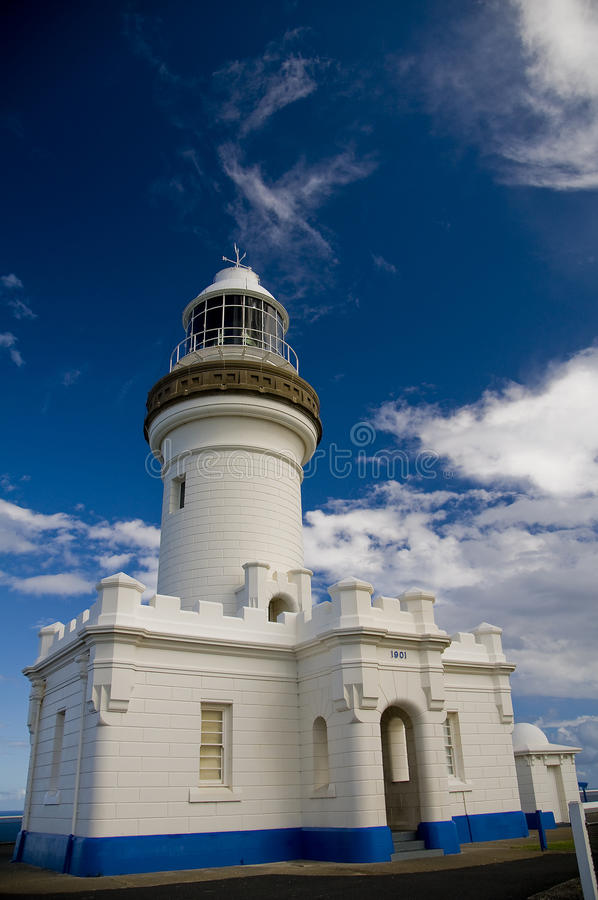 Byron Bay Lighthouse immagine stock libera da diritti