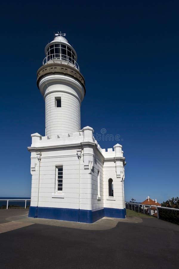 Byron Bay Lighthouse fotografia stock libera da diritti