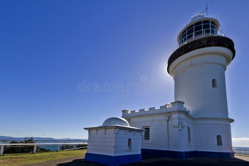 Byron Bay Lighthouse stock afbeeldingen