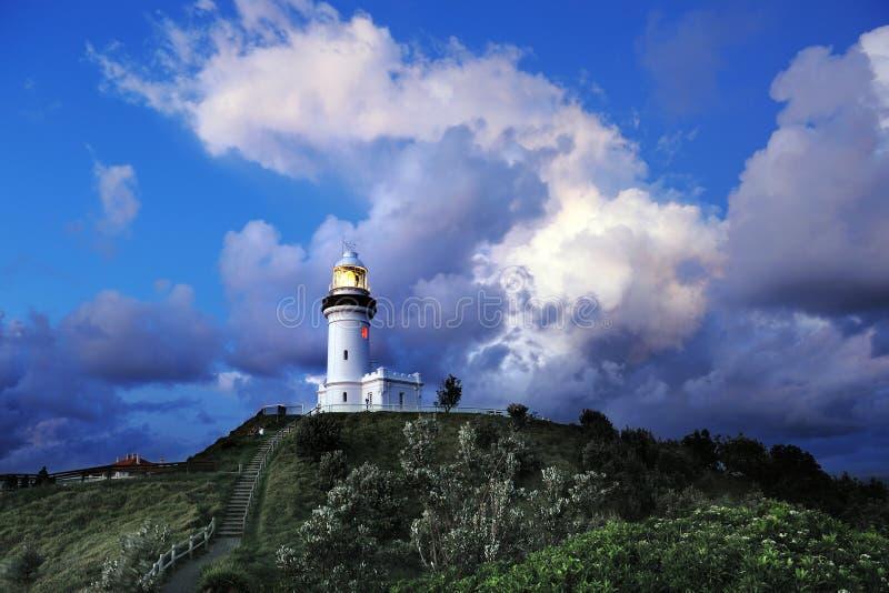 Byron Bay Lighthouse stock foto's