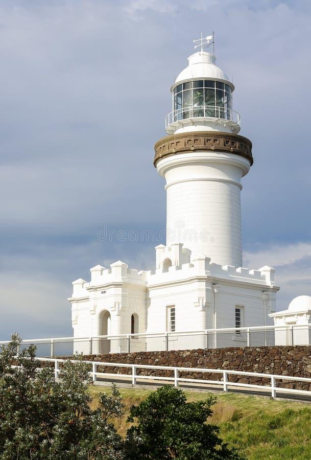 Byron Bay Lighthouse stock afbeelding