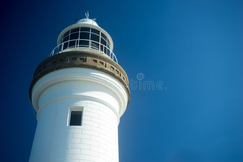 Byron Bay Lighthouse Australia Close op Mening royalty-vrije stock foto