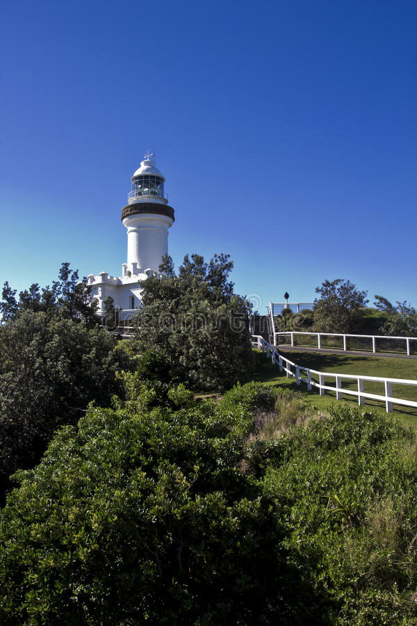 Download Byron Bay Lighthouse stock photo. Image of historic, eastern - 54658548