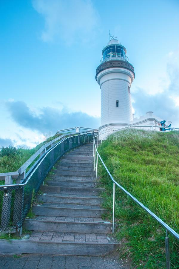 Byron Bay Lighthouse foto de archivo libre de regalías