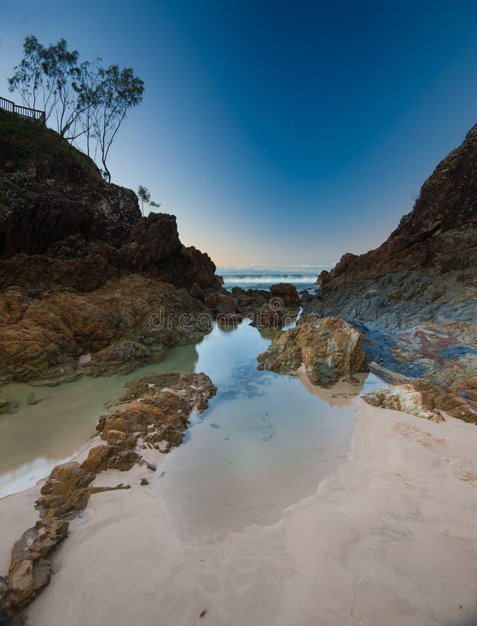 Byron Bay Vista photos stock