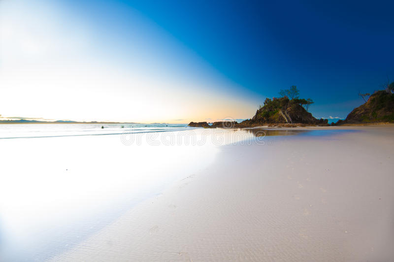 Byron Bay Vista. NSW, Australia royalty free stock photos