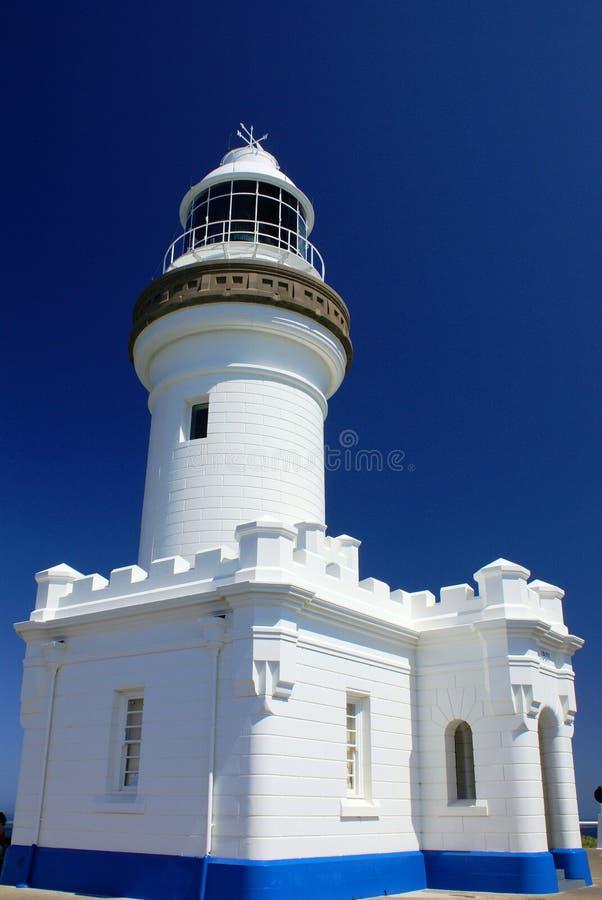 Byron Leuchtturm lizenzfreies stockbild