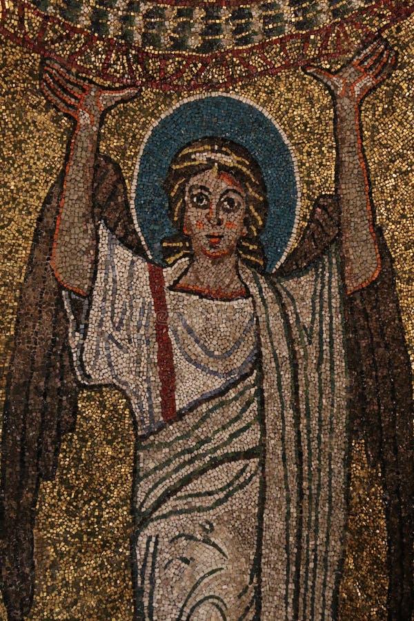 Download Bysantinsk Freskomålning I Rome Stock Illustrationer - Illustration av mosaik, pope: 76704123
