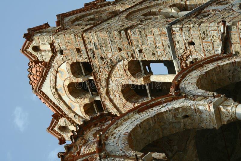 Bysantinsk kyrka i Mystra royaltyfri foto