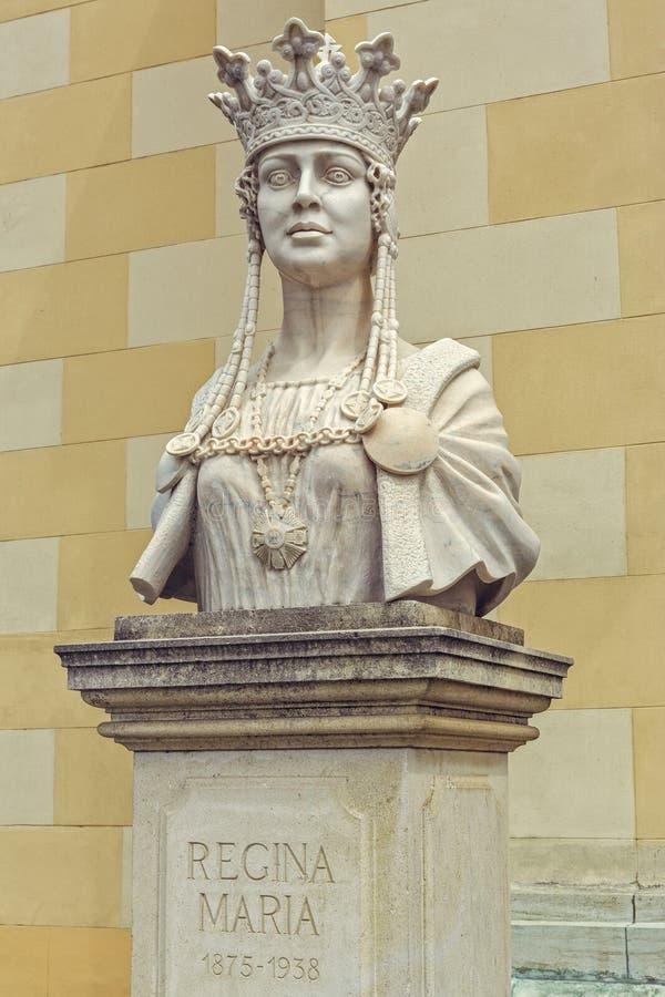 Byst av drottningen Marie av Rumänien arkivbilder