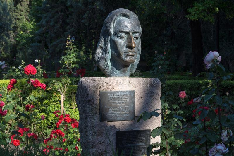 Byst av Frederick Chopin royaltyfri fotografi