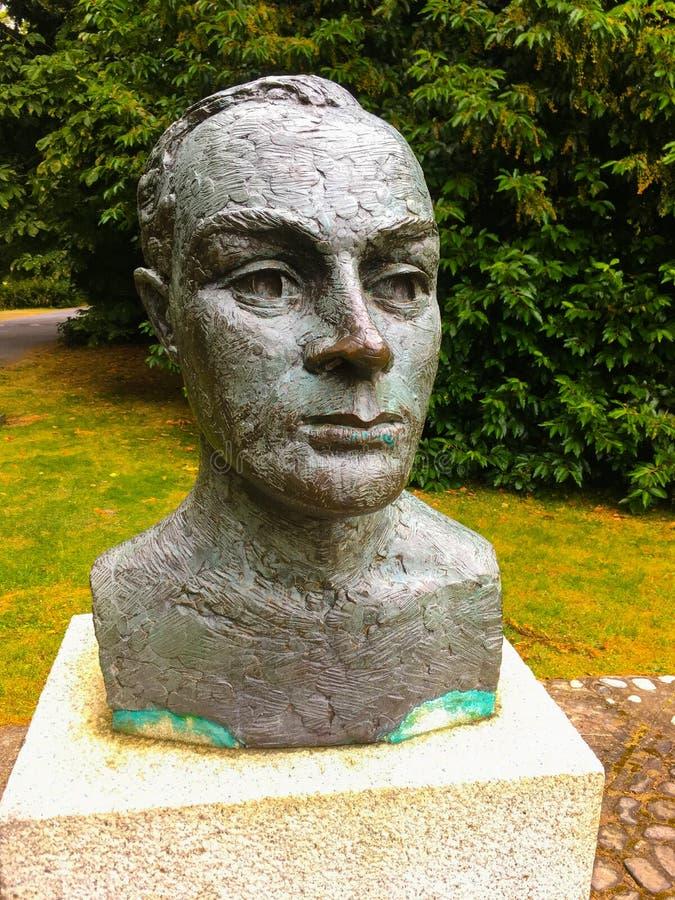 Byst av Padraig Pearse royaltyfria bilder
