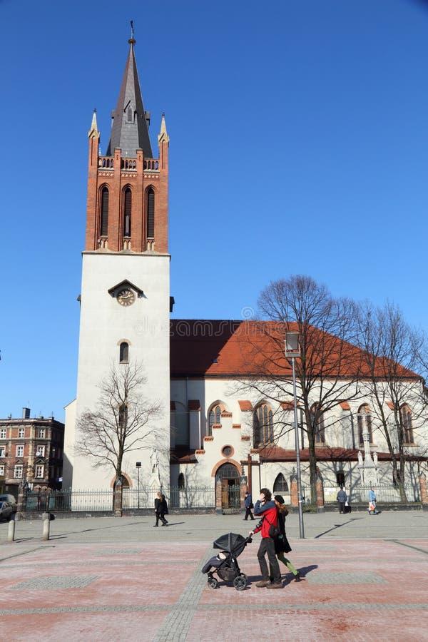 Bytom city, Poland royalty free stock images