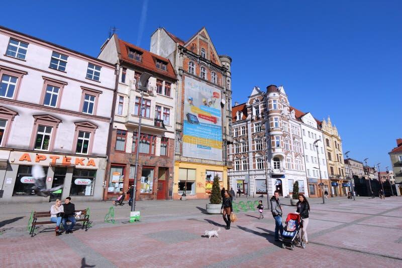 Bytom, Polen stockbild