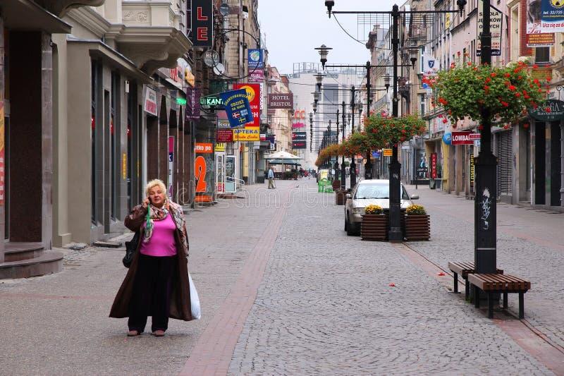 Bytom, Pologne image libre de droits