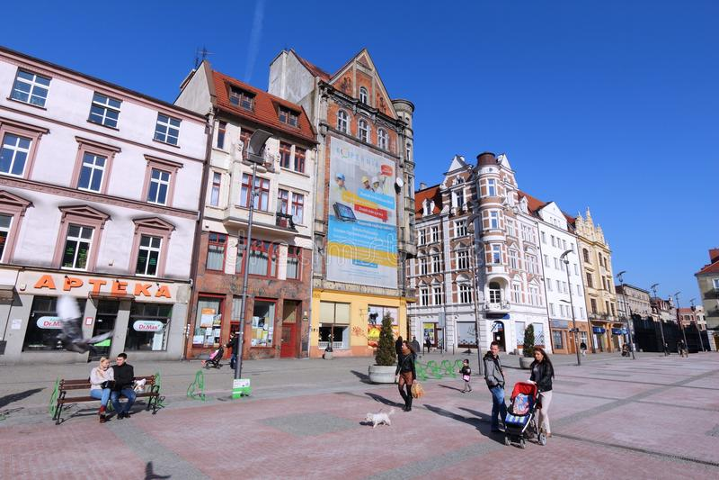 Bytom, Pologne image stock