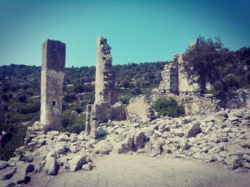 Byzantijns klooster royalty-vrije stock foto's