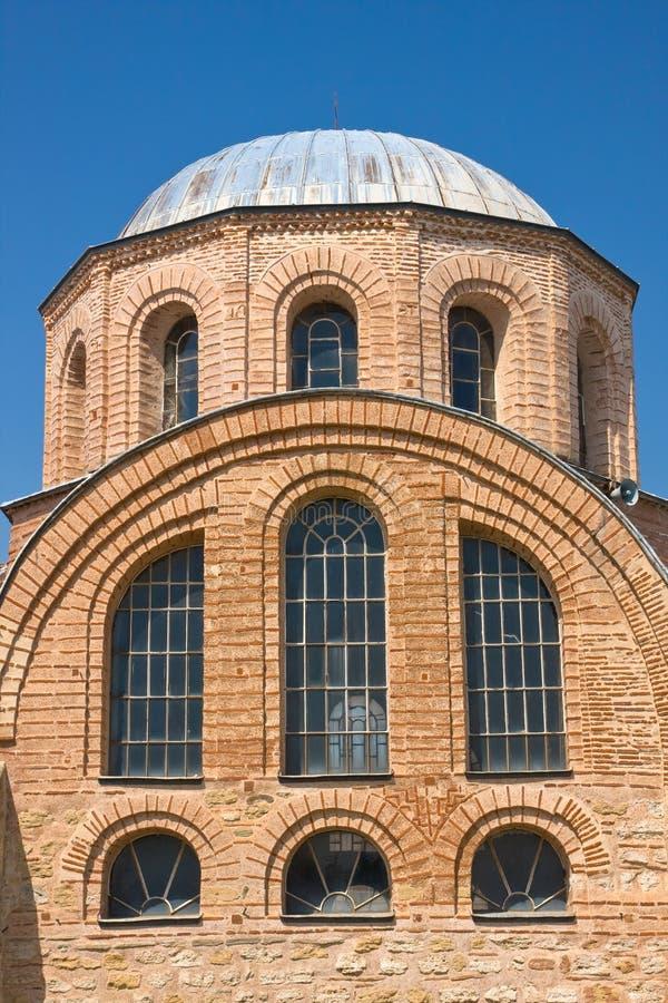 Byzantijnse kerk stock foto