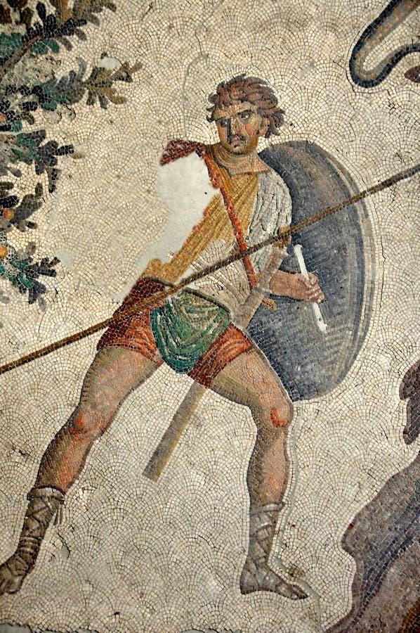 byzantine żołnierz zdjęcia royalty free