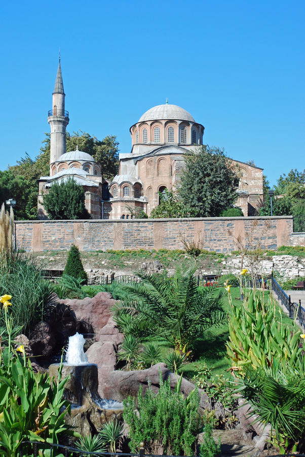 Byzantine church - Chora Church - Istanbul. Byzantine church Chora Church - Kariye Camii - Istanbul - Turkey royalty free stock photos