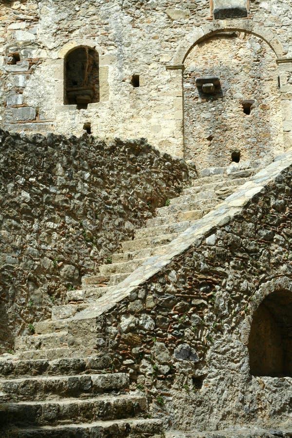 Byzantine church in Mystra royalty free stock photos